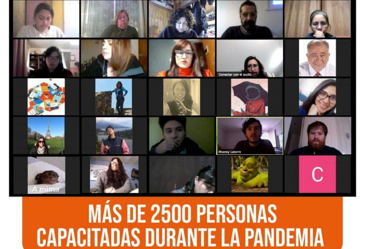 2.500 profesionales de la educación se capacitan durante la pandemia con Fundación Semilla