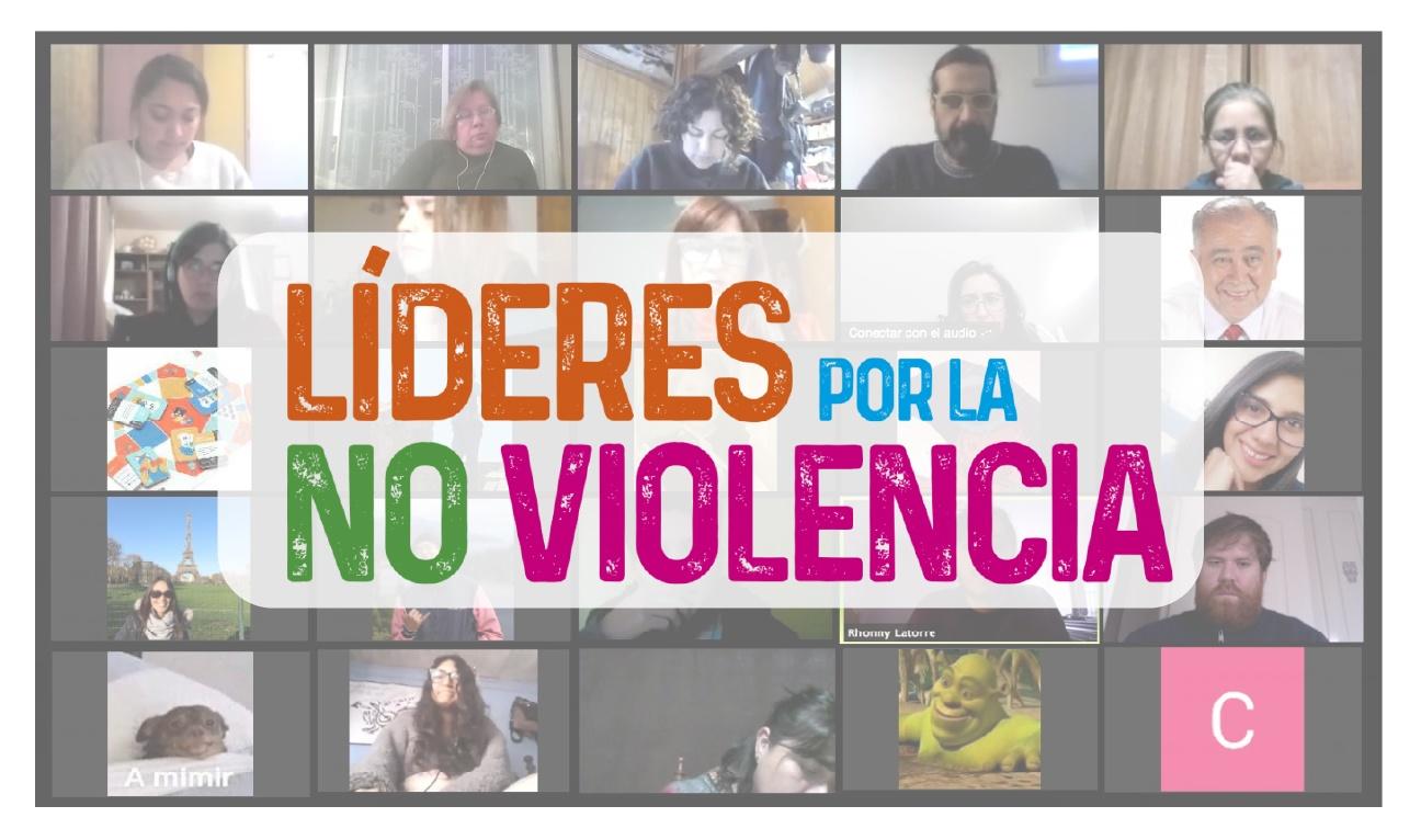 Se duplicaron las inscripciones para capacitación de Líderes por la NO violencia
